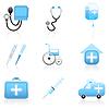 Zestaw ikon medycznych | Stock Vector Graphics