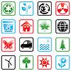 Icon set Environment | Stock Vektrografik