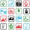 Icon set Medizin