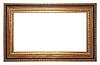 Stare ramki na zdjęcia złoto | Stock Foto