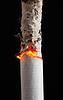 Rauchen von Zigaretten | Stock Foto