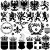 ID 3870014 | Elementy projektu Heraldyka | Klipart wektorowy | KLIPARTO