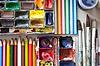 Aquarellfarben und Pinsel | Stock Foto