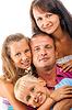 Wesoła rodzina | Stock Foto