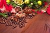향신료와 장식 크리스마스 트리 | Stock Foto