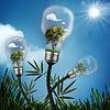 Abstrakt Energieeinsparung und Umweltschutz | Stock Foto