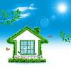 Green House. Abstract eco Hintergründe für Ihre | Stock Foto