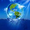 Das Leben von Wasser. Abstract eco Hintergründe für Ihre | Stock Illustration