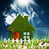 Green House. Umweltschutz Hintergründe für Ihre | Stock Foto