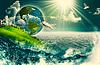 Abstract eco und ökologischen Hintergründe für | Stock Foto