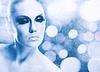 ID 3914878 | Ice Queen, абстрактный женский портрет с льдом | Фото большого размера | CLIPARTO