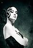 ID 3916585 | Mechanische Frau. Abstrakt weiblichen Porträt | Foto mit hoher Auflösung | CLIPARTO