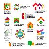 Sammlung von Logos Bau und Reparatur von