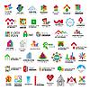Sammlung von Logos Bau-und Heim