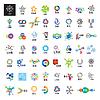 größte Sammlung von Logos Link-Kommunikation