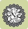Kreative Lord Ganesha Hindu
