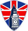 London Big Ben Clock Tower Britische Flagge