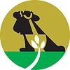 Gärtnerlandschaftsgestalter Mit Schaufel Graben Pflanze
