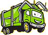 Garbage Truck Cartoon Müll