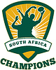 Vector clipart: Rugby Player South Africa Champions