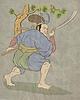 ID 3964379 | Samurai-Krieger mit Katana Schwert Kampfstellung | Illustration mit hoher Auflösung | CLIPARTO