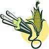 Elektrische Netzstecker kommen aus Mais