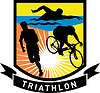 Triathlon Swim Bike Run Rennen | Stock Vektrografik