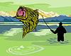 Forellenbarschspringen