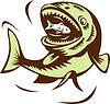 große Fische essen kleine Fische