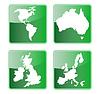 icon of Americas australien Großbritannien und