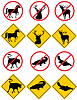 Wildlife Symbole Signs