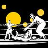 knockout Schiedsrichter Zählen