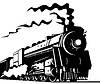 빈티지 증기 기차 기관차 | Stock Vector Graphics
