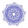 ID 3980048 | Fractal squidtail wielokrotnego | Stockowa ilustracja wysokiej rozdzielczości | KLIPARTO