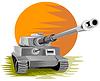 ID 3983663 | 세계 대전 기갑 전투 탱크 | 벡터 클립 아트 | CLIPARTO