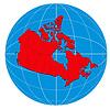ID 3984051 | Globe Canada Map | 높은 해상도 그림 | CLIPARTO
