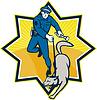 Polizist Police Dog Canine Teams