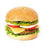 큰 햄버거 | Stock Foto