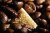 Kaffeebohnen Hintergrund | Stock Foto