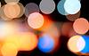 Farbiger Film und Kleckse | Stock Foto