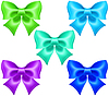 ID 3976337 | Silk Bögen in kühlen Farben | Stock Vektorgrafik | CLIPARTO