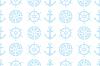 직물 항해 원활한 패턴 | Stock Vector Graphics
