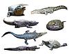 ID 3986778 | Reptilien mit Schatten | Foto mit hoher Auflösung | CLIPARTO