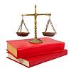 ID 3998302 | Waage der Gerechtigkeit auf juristische Bücher | Foto mit hoher Auflösung | CLIPARTO