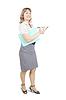 ID 4002978 | Weibliche Führungskraft auf Notizbuch | Foto mit hoher Auflösung | CLIPARTO