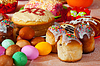 ID 4007427 | Ostern Kuchen und Eier | Foto mit hoher Auflösung | CLIPARTO