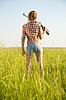 Dziewczyna z wiatrówki | Stock Foto