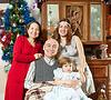 Rodzina z trzech pokoleń rodziny | Stock Foto
