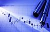 Arbeiten über statistische Unternehmensregister graph | Stock Foto