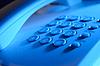 Keypad auf Festnetz-Telefon | Stock Foto